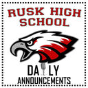 RHS Daily Announcements for March 2nd, 2020